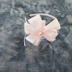 Easter Spring or Flower girl wedding headband
